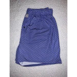 Men's Peter Millar Blue Polka Dot Boxers
